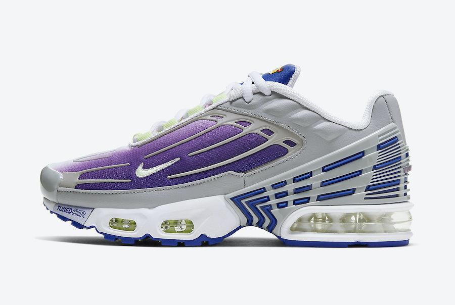 莆田鞋-Nike Air Max Plus 3 GS 货英超下注平台:CD6871-006插图(1)
