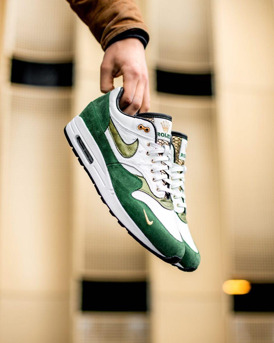 AJ1,Air Jordan 1,Nike  勞力士 x AJ1 太奢華了!這樣的球鞋誰不想要?