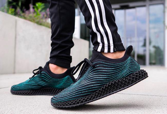 adidas,Parley,Ultra Boost 4D U  神似上海万花筒!adidas x Parley 海洋联名新鞋曝光!