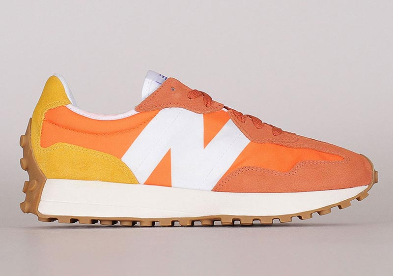 New Balance,327,Orange,MS327 市价蹿升,疯狂刷屏!听说大家都在种草这双新跑鞋!