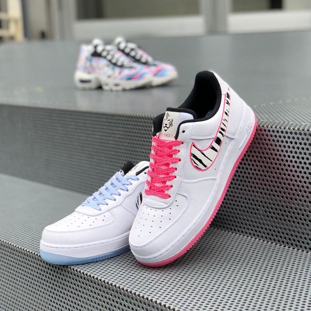 Nike,AF1,Air Force 1,CW3919-10  果冻鸳鸯 + 韩国主题!全新 Air Force 1 后天发售
