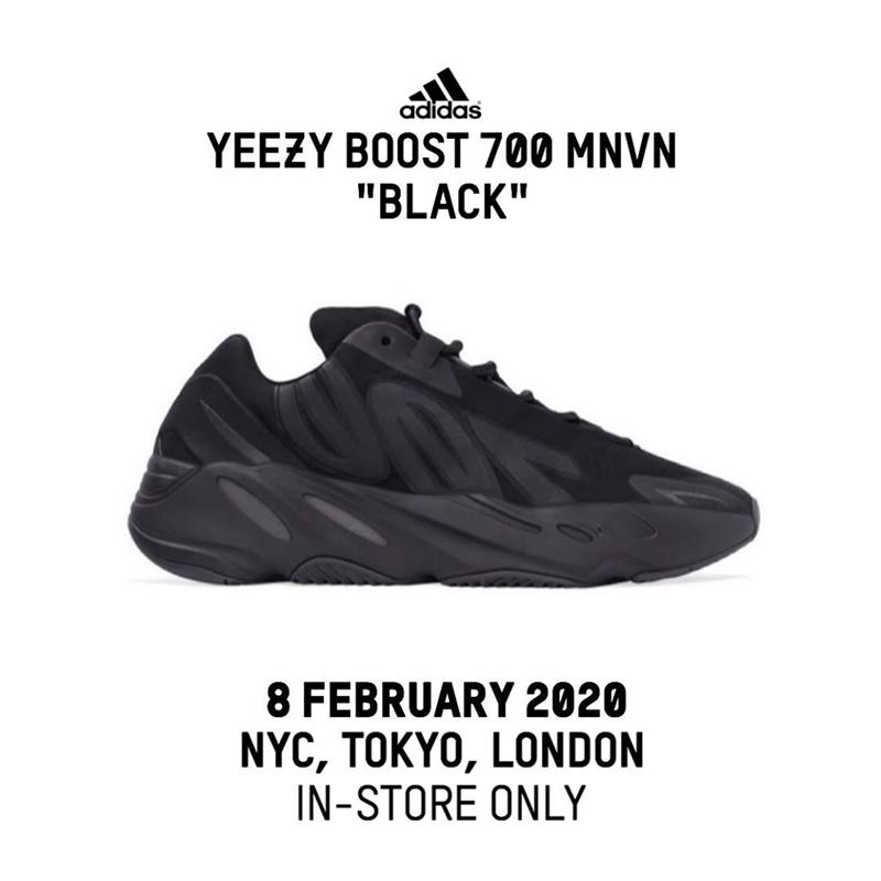 Yeezy 700 MNVN,adidas,發售,FV444  國內預約開啟!黑武士 Yeezy 700 MNVN 本周六再度發售!