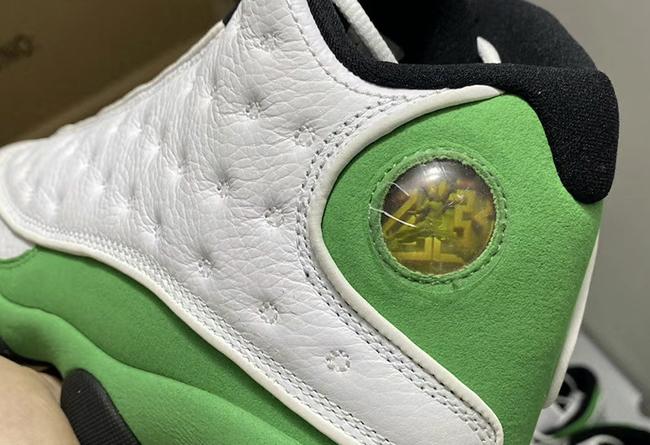 "AJ13,Air Jordan 13,發售,DB6537-1  酷似天價雷阿倫 PE!AJ13 ""Lucky Green"" 完整實物曝光"