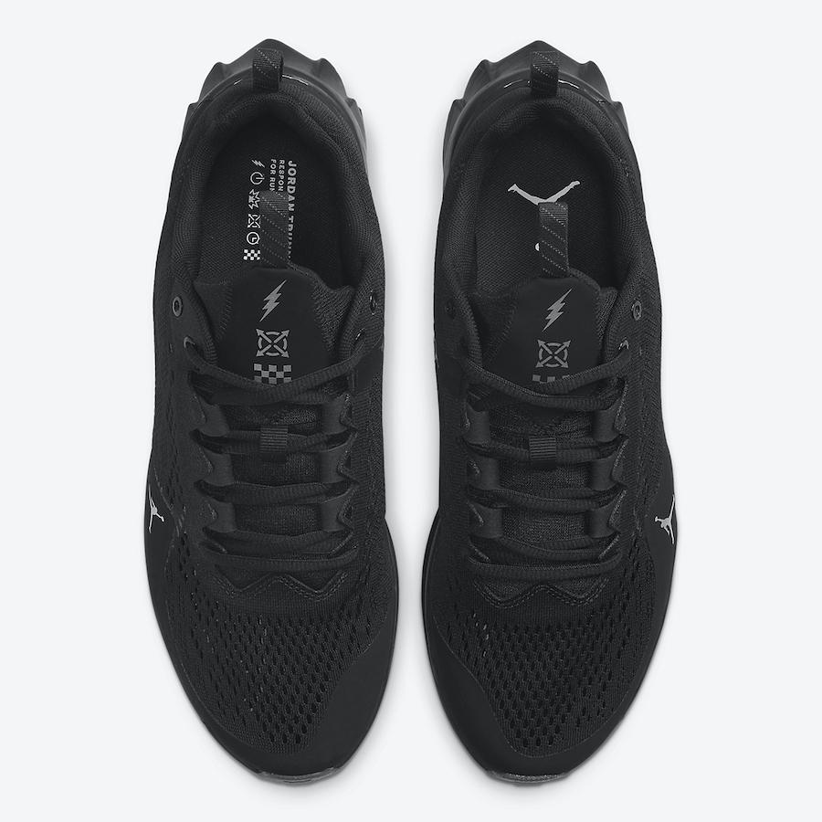 Jordan Trunner,Advance,Black C  帅气黑武士造型!Jordan 最新科幻跑鞋现已发售!