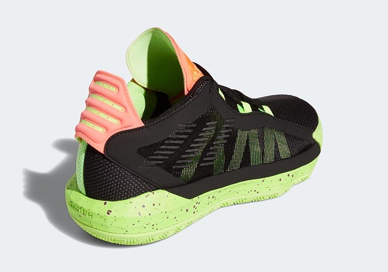 adidas,Dame 6,Signal Green,EH2  罕見珊瑚橙配色!這雙利拉德 Dame 6 真是夏日絕配!