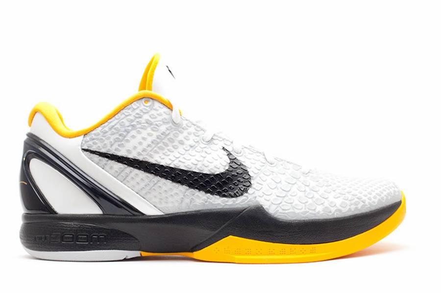 Kobe 6,Nike,发售,White Del Sol  第五款 Kobe 6 复刻配色!经典「季后赛」传言明年回归!