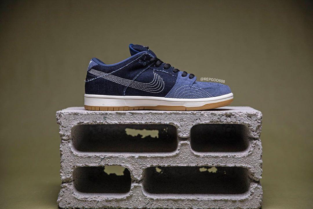 Nike,Dunk SB Low PRM,Denim Gum  最奇怪的 Nike Dunk SB 来了!没有钩子,鞋面居然还是....