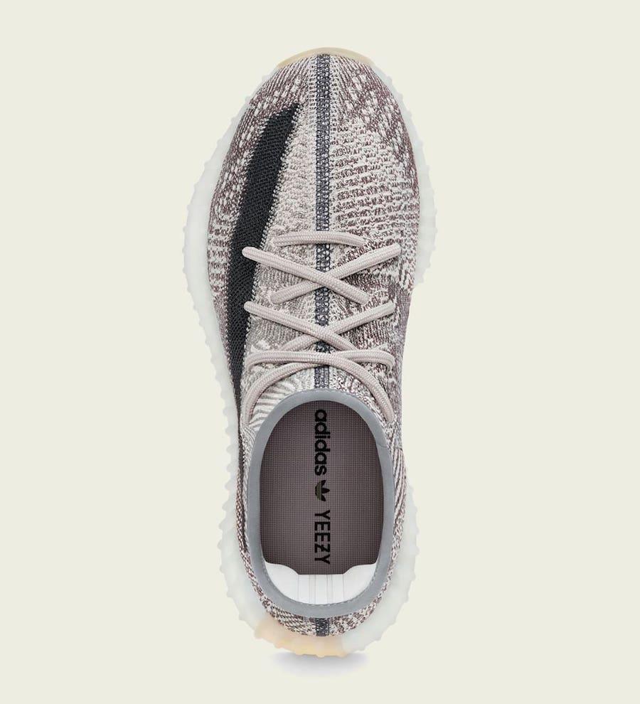 adidas,Yeezy Boost 350 V2,FZ12  芝麻侧透 2.0 来了!全新 Yeezy 350 V2 下月发售!