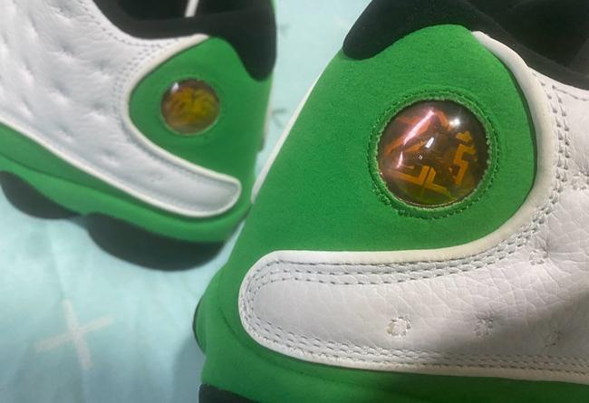 Air Jordan 13,AJ,AJ13,Lucky Gr  暗藏 3M 反光细节!神似雷阿伦 AJ13 PE 最新实物图释出!