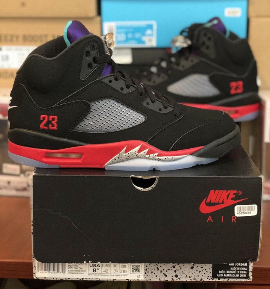 "Air Jordan 5,AJ,AJ5,Top 3,CZ17  再度延期!Air Jordan 5 ""Top 3"" 传闻 6 月正式发售!"