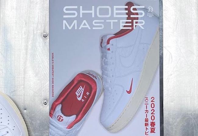 Nike,KITH,AF1,Air Force 1,CZ79  天鵝絨內襯 + 奢華皮料!白紅 KITH x Air Force 1 官圖釋出