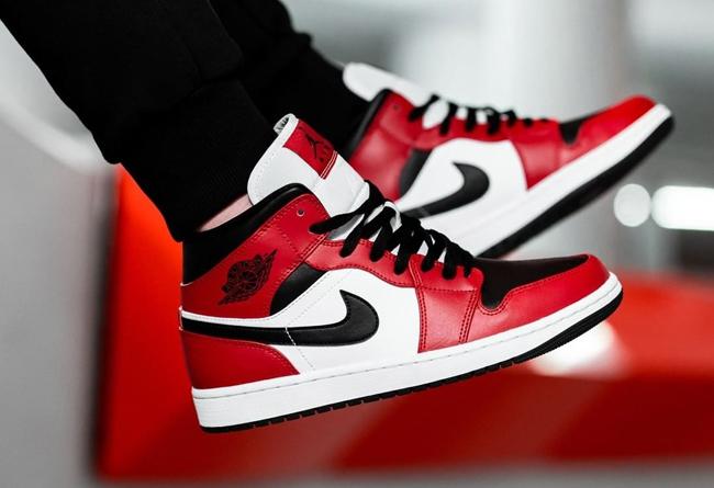 AJ1,Air Jordan 1 Mid,Nike,adid  芝加哥 AJ1 兄弟款扎堆上市!近期寶藏球鞋真多,可惜知道的人太少!