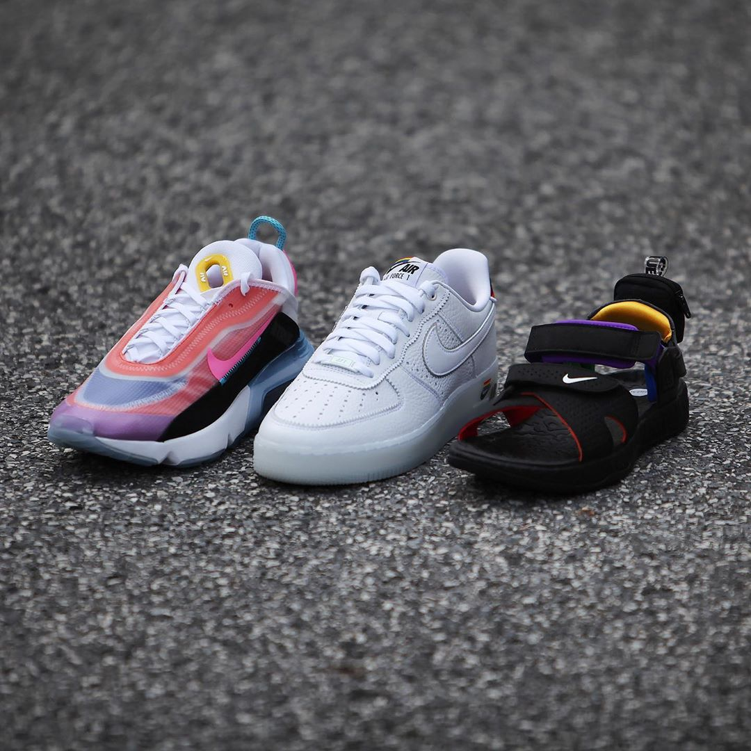 LGBTQ,Nike,Air Force 1,AF1,Air  清新亮眼的彩虹配色!Nike 三款新配色鞋款实物释出!