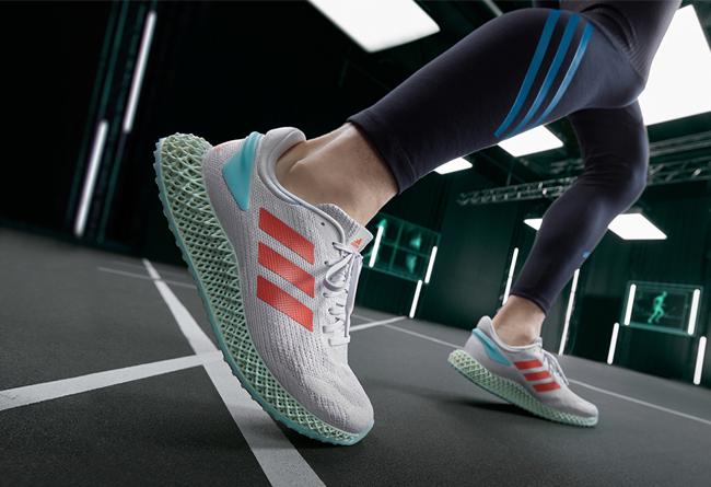 adidas,4D RUN 1.0,4D,发售  可回收材质打造!全新 adidas 4D 跑鞋下周发售