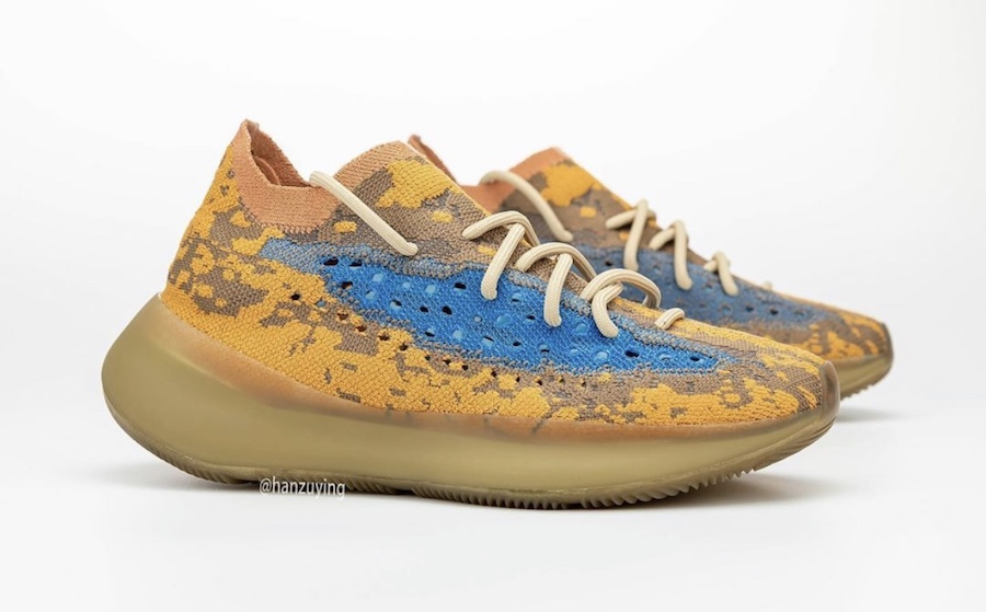 Yeezy,350,Zyon,FZ1267,380,Blue  4 双 Yeezy 下月发售!不仅有斑马 350,还有 YZY 篮球鞋!
