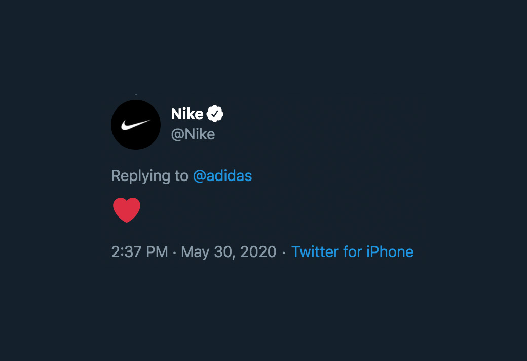 Nike,adidas  Nike 和 adidas 罕見聯手!背后的原因讓人心痛
