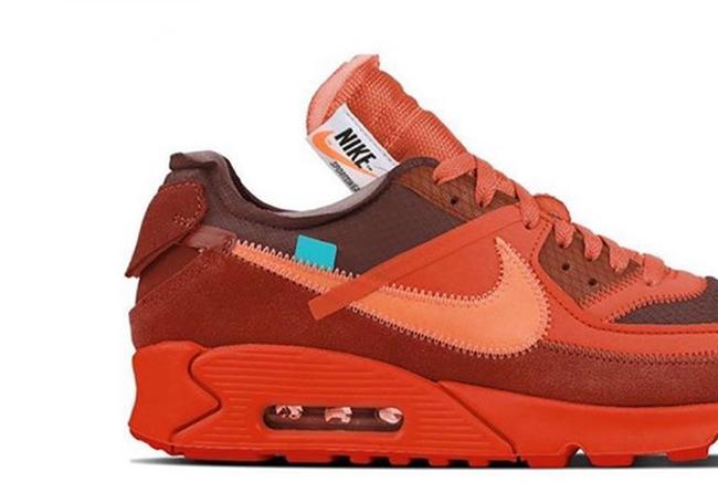 OFF-WHITE,OW,Nike,Air Max 90,U  OFF-WHITE 联名再曝新款!红色 Air Max 90 将于七月发售!