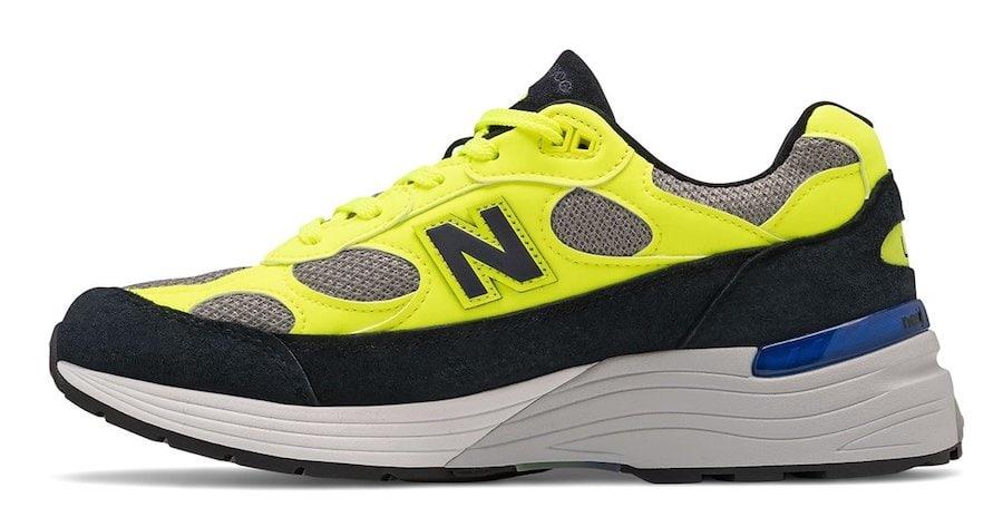 New Balance 992,發售  醒目黑黃撞色!喬布斯摯愛 New Balance 992 新配色來了!