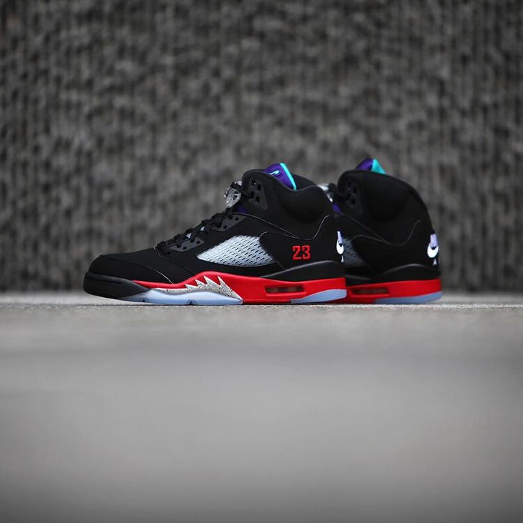 "Air Jordan 5,AJ,AJ5,Top 3,CZ17  Air Jordan 5 ""Top 3"" 最新实物美图释出!希望本月如期发售!"