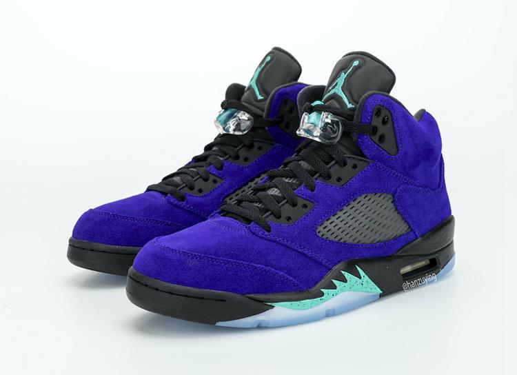 Air Jordan,AJ5,136027-500,Alte  新紫葡萄 AJ5 最新實物釋出!遺憾的是發售又要延期...