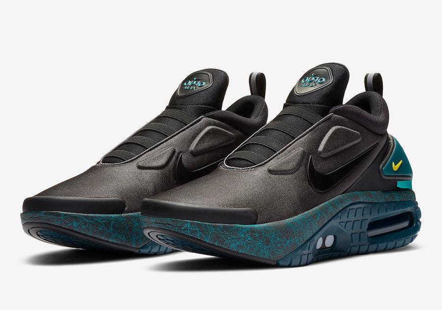 Nike,Adapt Auto Max,CW7271-001  「小 Mag」又有新配色來了!酷黑裝扮造型更科幻!