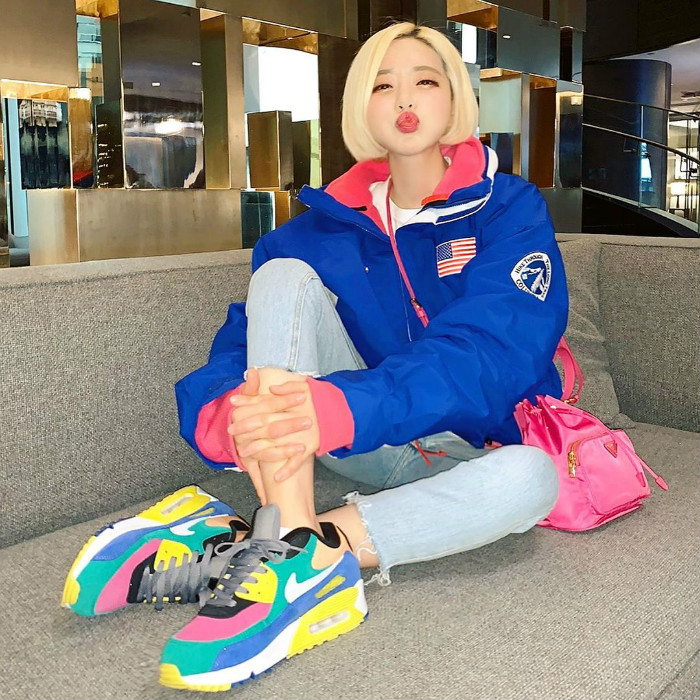 DJ Soda,明星上腳  DJ Soda 頻繁上腳 OW 聯名!看看她最近穿了哪些鞋!