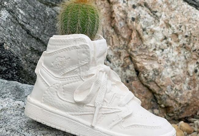 將,Air,Jordan,倒鉤,制成,花盆,Bodega,R  造型太逼真!反鉤 Air Jordan 1 造型花盆剛剛發售!