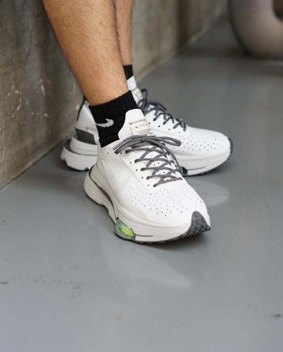 Nike,Nike Air Zoom Type 酷似 Sacai 联名设计!Nike N.354 最新鞋款上脚美图释出!