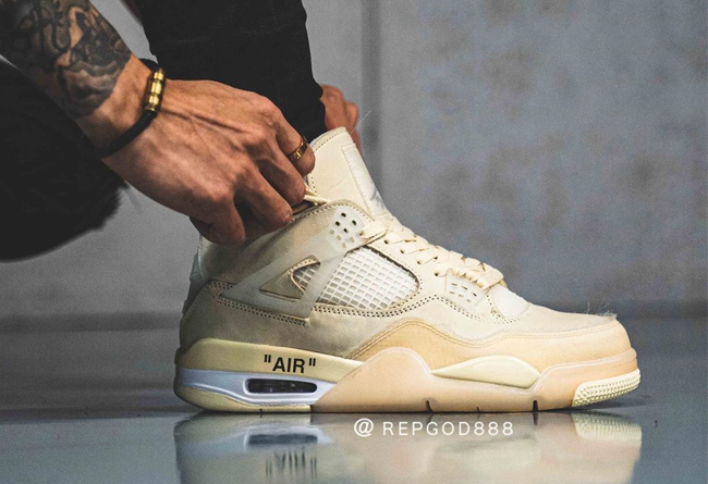 OFF-WHITE,Nike,AJ4,Air Jordan  看完细节都爱了!OFF-WHITE x AJ4 将于 7 月发售