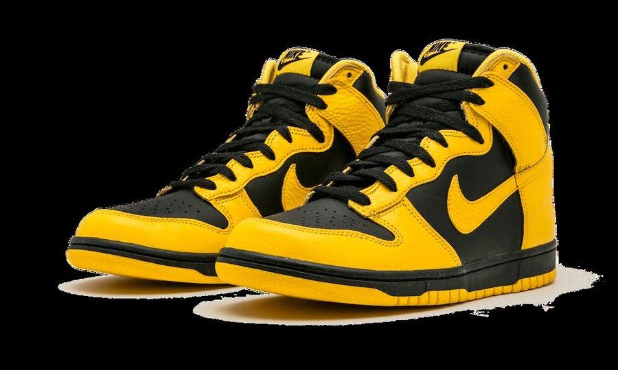 发售,Nike,Maize,Dunk High 酷似天价「武当」配色!又一款老 Dunk 传言年底复刻!