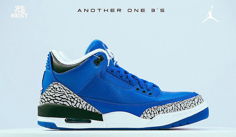 AJ3,Air Jordan 3,CT8532-400,发售  DJ Khaled 亲友 AJ3 的双胞胎兄弟!本月底的这双鞋厉害了!