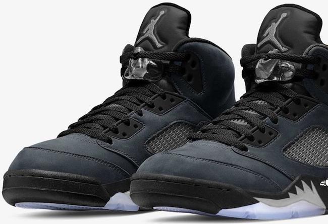 "Air Jordan 5,Anthracite,DB0731  稀有罕见配色!Air Jordan 5 ""Anthracite"" 首度曝光!"