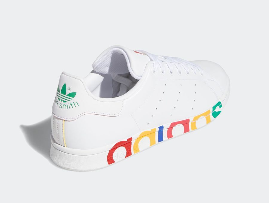 "adidas,Stan Smith,Olympic,FY11  奥运主题!全新配色 adidas Stan Smith ""Olympic"" 即将发售!"