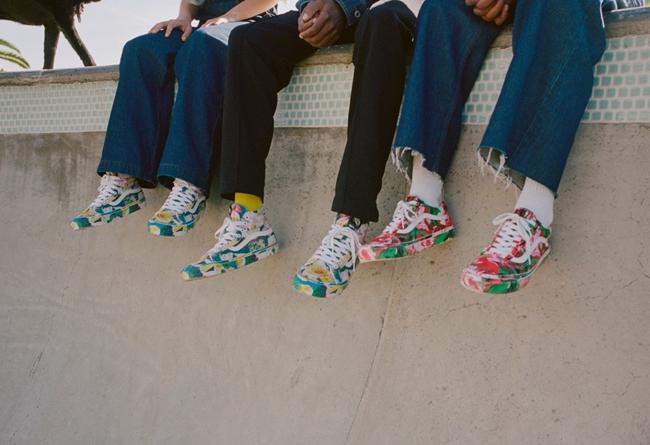 KENZO,Vans Vault  花卉鞋面太像艺术品!KENZO x Vans 联名现已发售!