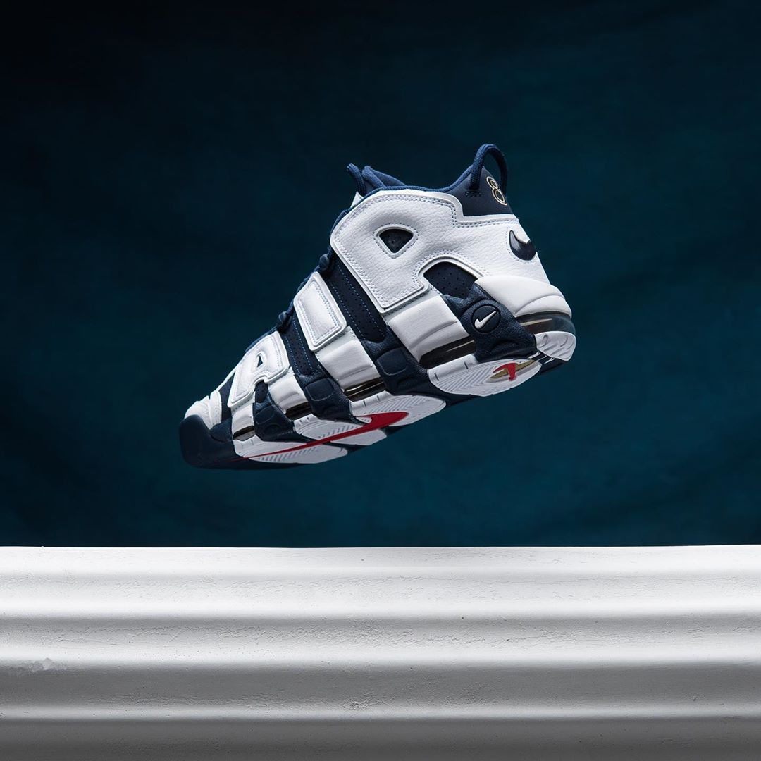 Nike,Air More Uptempo,414962-1 超人气奥运大 AIR 竟然悄悄发售!只可惜...