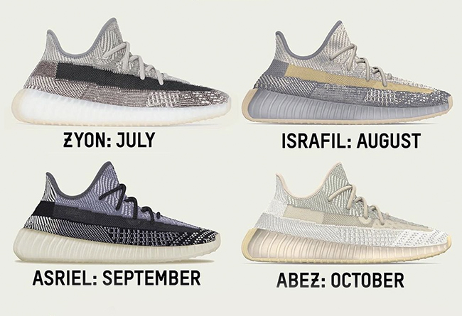 Yeezy 350 V2,Yeezy 380,adidas,  每月至少一双!Yeezy 350 V2、Yeezy 380 下半年发售计划曝光