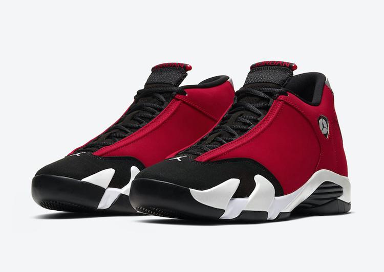 AJ14,Air Jordan 14,Gym Red,487  愤怒公牛配色 Air Jordan 14 官网链接已出,确定下周发售!