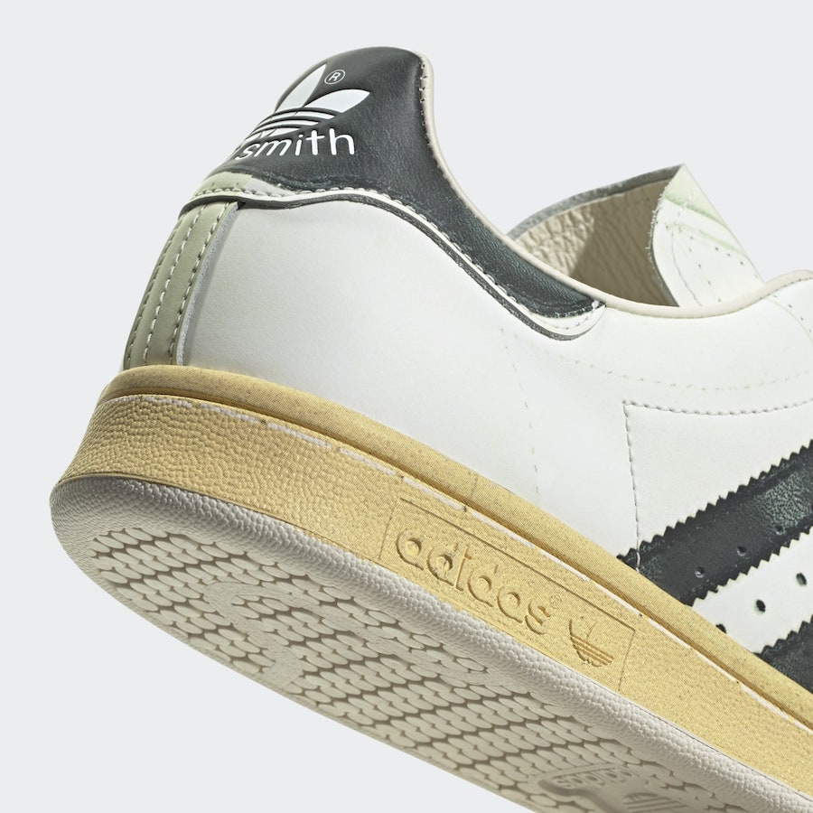 Stan Smith,发售,adidas  神还原贝壳头造型!这款 Stan Smith 新配色有点东西!