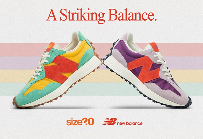 size?,New Balance 327,NB  清新夏日氛围!size? x New Balance 327 联名即将发售!
