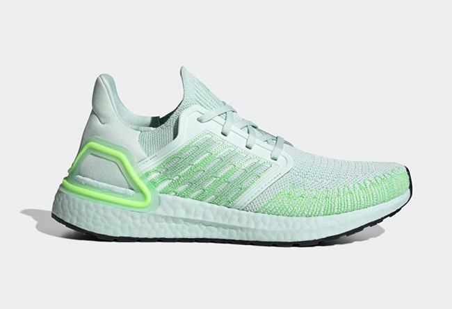 adidas,Ultra Boost 2020,EG0729  配色也太绿了吧!全新 adidas Ultra Boost 2020 官图释出!