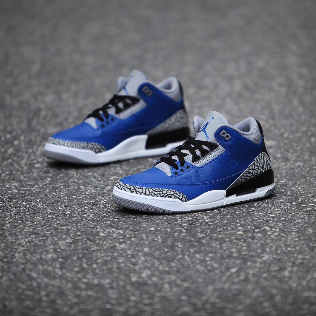 AJ3,Air Jordan 3,CT8532-400,发售  官网预告正式公布!黑蓝 AJ3 本周发售