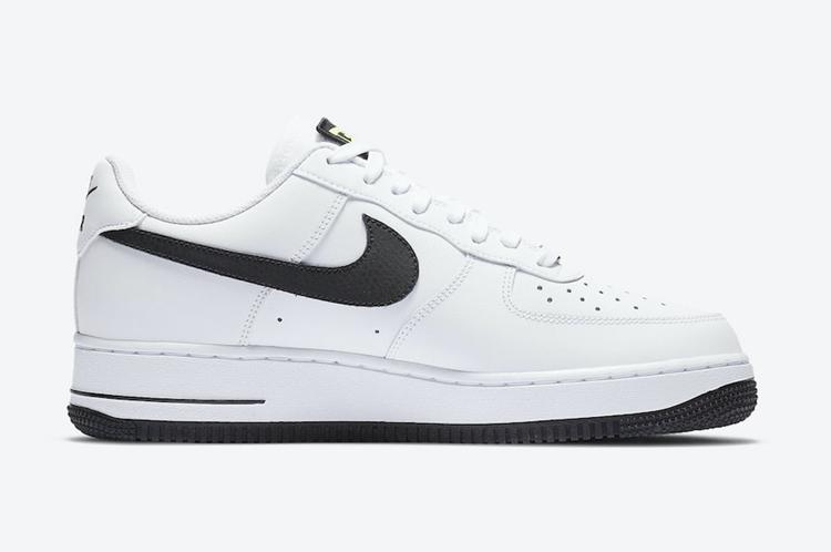 Nike,Air Force 1,CW7297-100  六款鞋舌魔术贴可玩性超高!全新配色 Air Force 1 官图曝光!