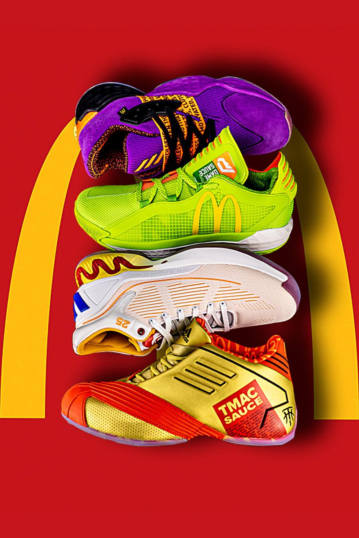 adidas,麦当劳  这四双鞋真能把你看饿!吃汉堡买鞋还能打折!?