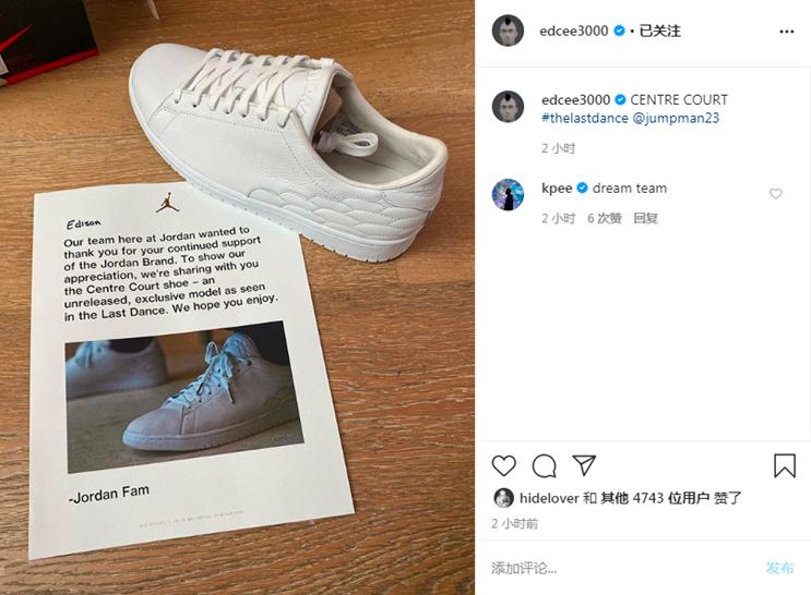 Nike  冠希亲晒 Nike 超限量「神秘套装」!里面装的竟然是...