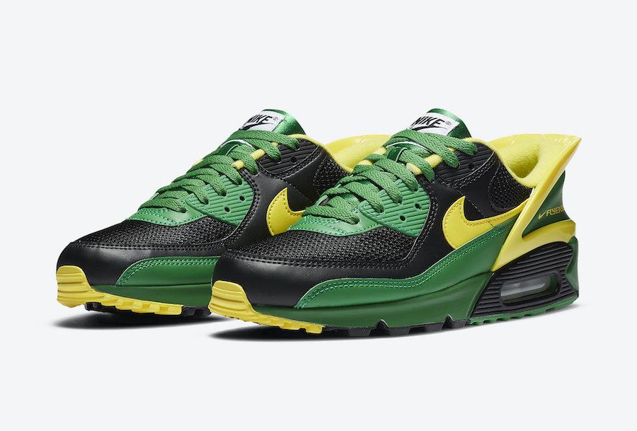 Air Max 90,Nike,CZ4270-001  俄勒冈配色!一脚蹬版本 Air Max 90 新品登场