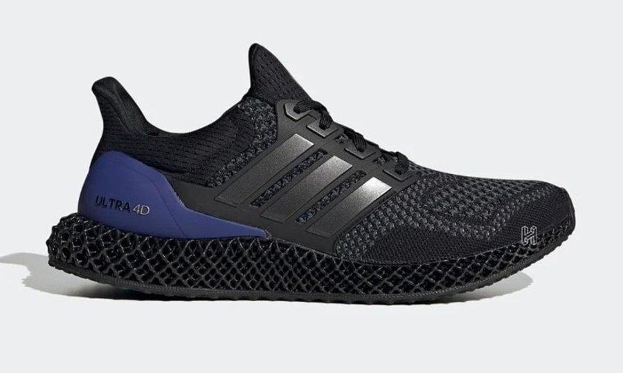 Ultra Boost,adidas,4D  Ultra Boost 真的换上了 4D 鞋底!初代黑紫配色回归!