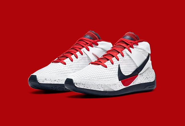 "Nike,KD13,USA,发售  原定奥运会发售!杜兰特 KD13 ""USA"" 官图释出!"