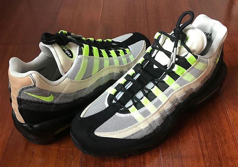 DENHAM,Nike,Air Max 95,CU1644-  高端丹宁联名!DENHAM x Nike Air Max 95 首次曝光!