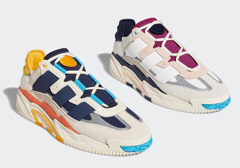 adidas Originals,Niteball,FV48  adidas 推出全新篮球鞋!复古装扮暗藏高性能缓震!