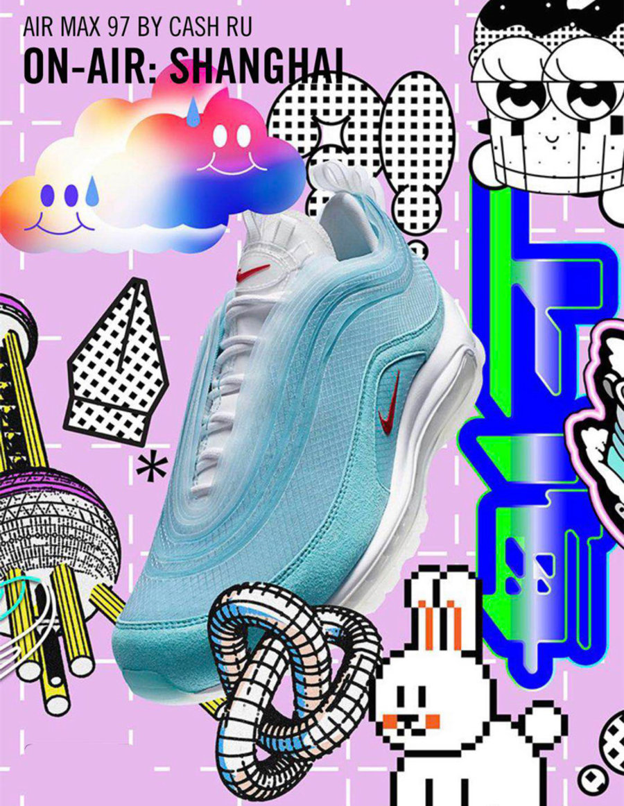 Nike,WMNS,Air Max 97 LX,CV3411  仙气十足的花朵装饰!「新·万花筒」Air Max 97 LX 刚刚发售!
